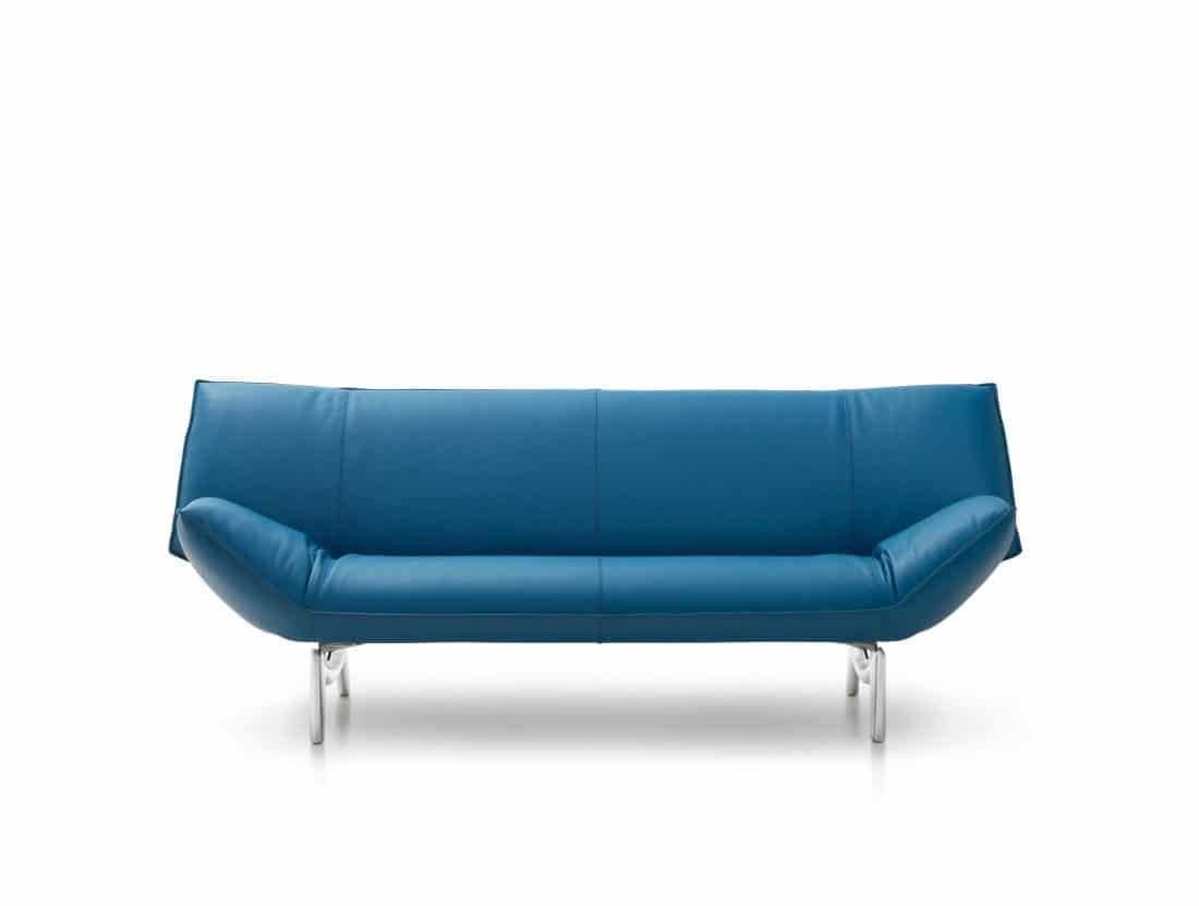 Leolux Tango Leather Blue 0001 Scaled