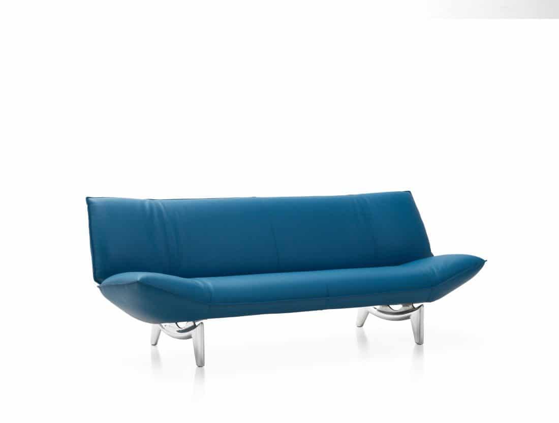 Leolux Tango Leather Blue 0002 Scaled