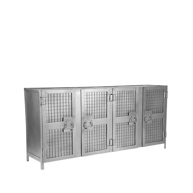 Dressoir Gate Vintage Metaal 170x40x80 Cm Perspectief 1