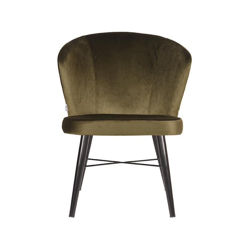 Label51 8211 Fauteuil Wave 8211 Fluweel 8211 Army