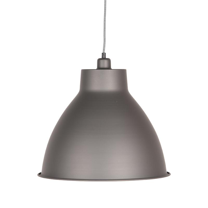Label51 8211 Hanglamp Dome 8211 Burned Steel 8211 42 Cm