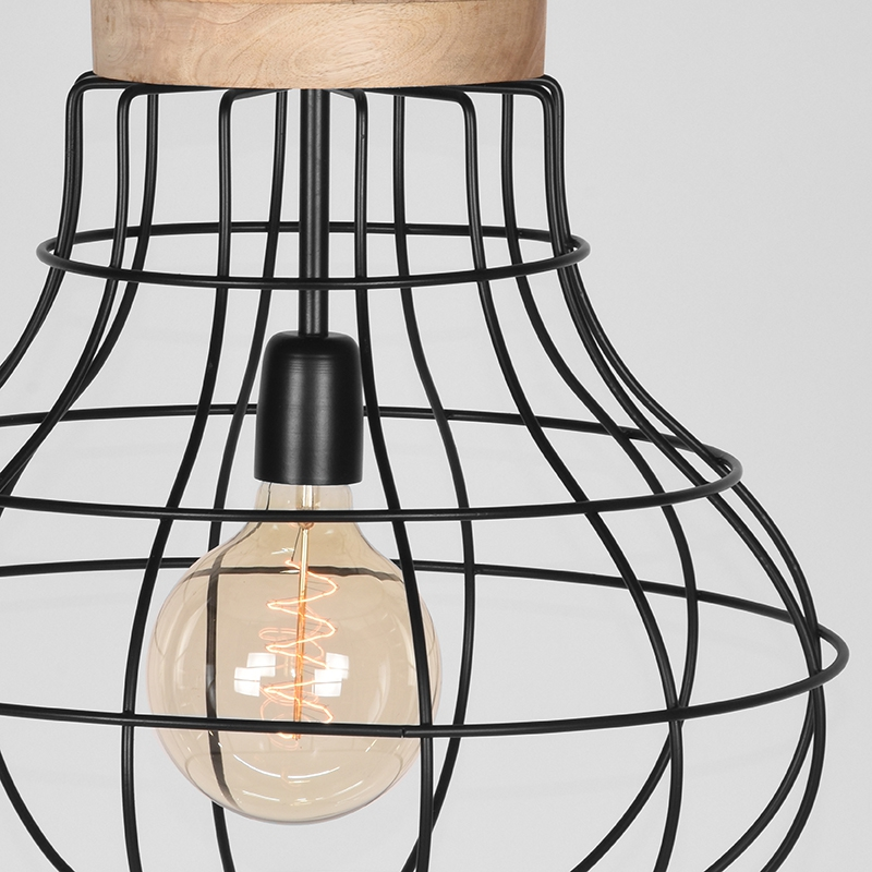 Label51 8211 Hanglamp Drop 8211 Zwart 8211 44 Cm