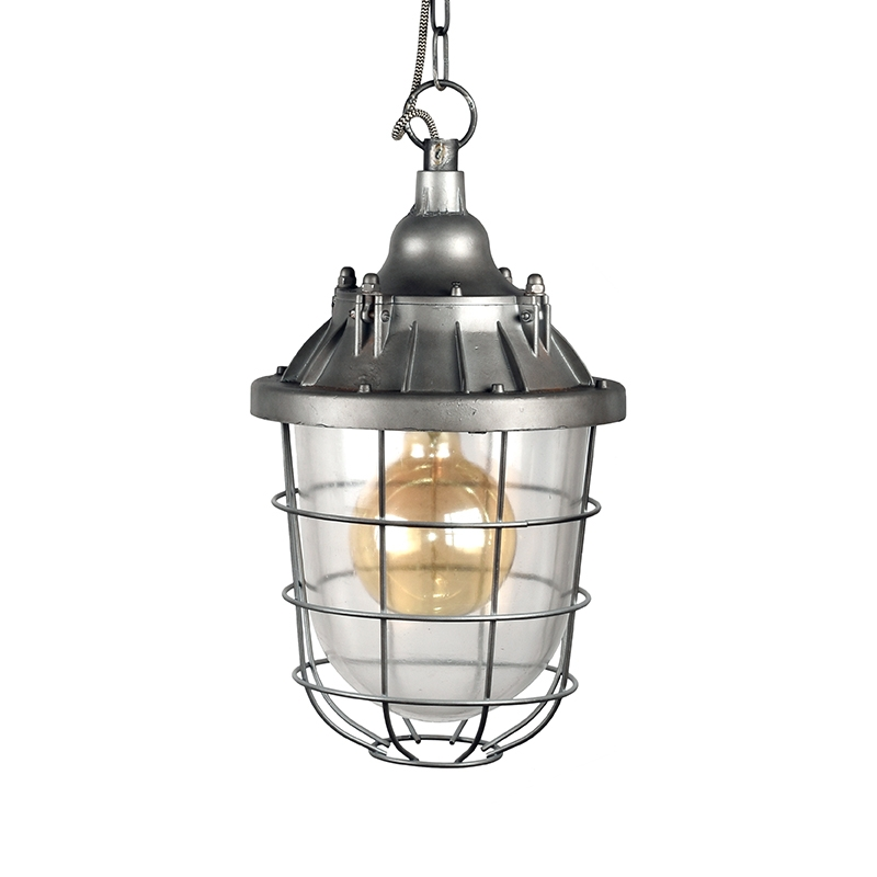 Label51 8211 Hanglamp Seal 8211 Burned Steel 8211 29 Cm