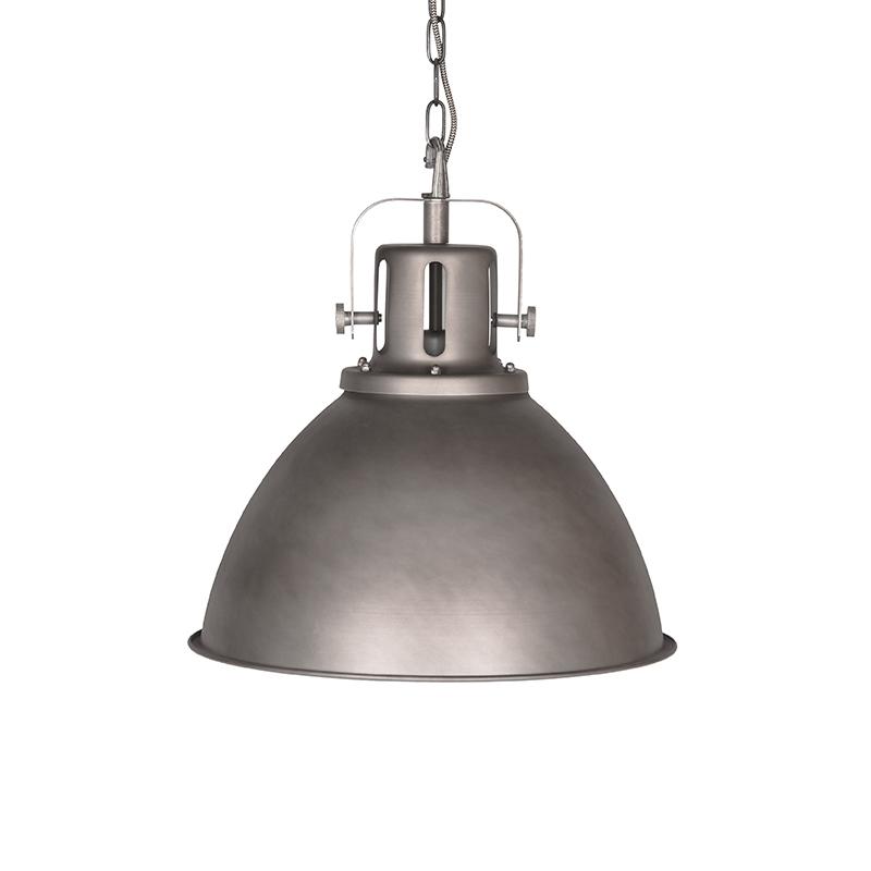 Hanglamp Spot Burned Steel Metaal 47x47x45 Cm Voorkant