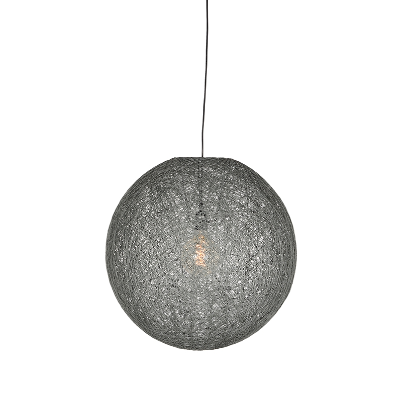 Label51 8211 Hanglamp Twist 8211 Grijs 8211 30 Cm 8211 M