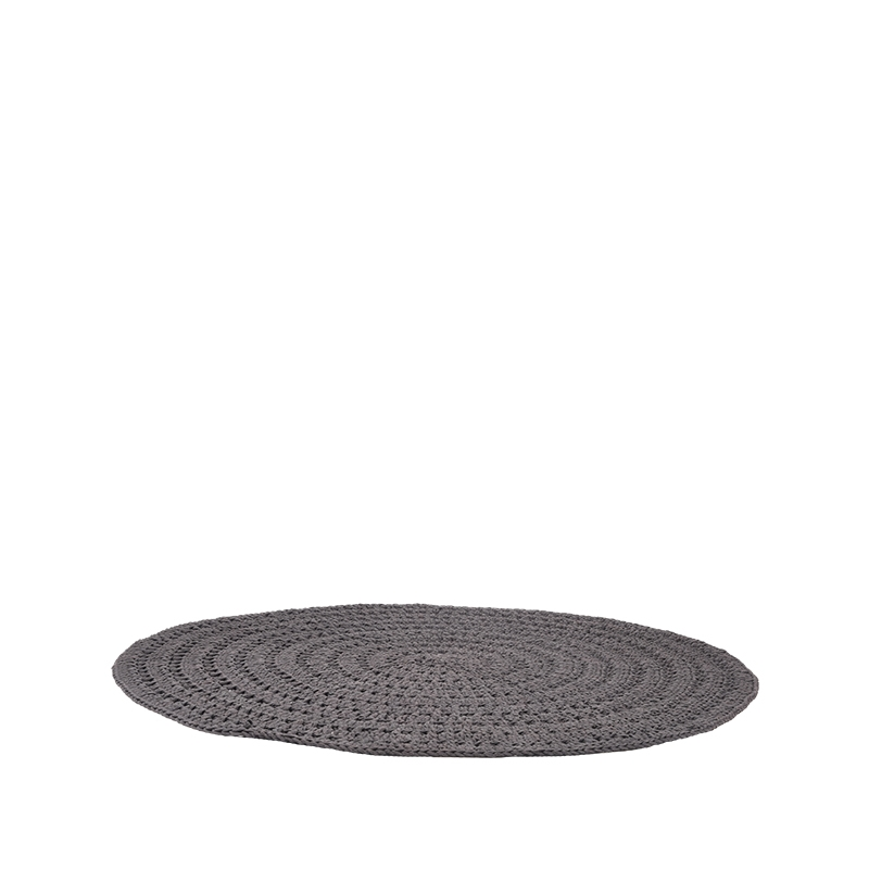 Label51 8211 Vloerkleed Knitted 8211 Antraciet 8211 150 Cm