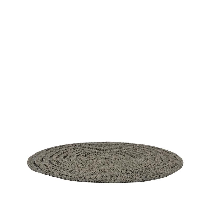 Label51 8211 Vloerkleed Knitted 8211 Army 8211 150 Cm
