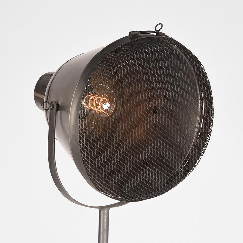 Vloerlamp Gaas Raw Iron Metaal 60x60x110 170 Detail