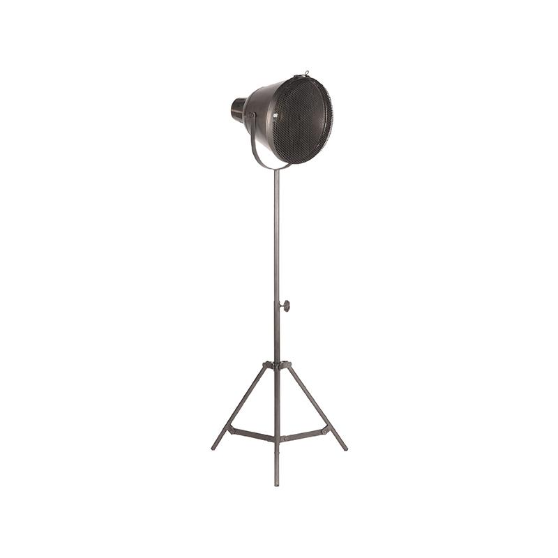 Vloerlamp Gaas Raw Iron Metaal 60x60x110 170 Perspectief