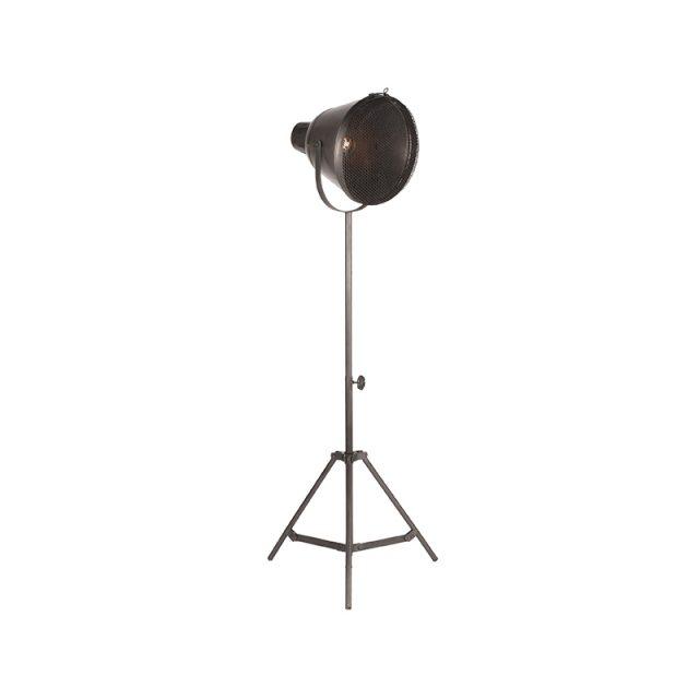 Vloerlamp Gaas Raw Iron Metaal 60x60x110 170 Perspectief Aan