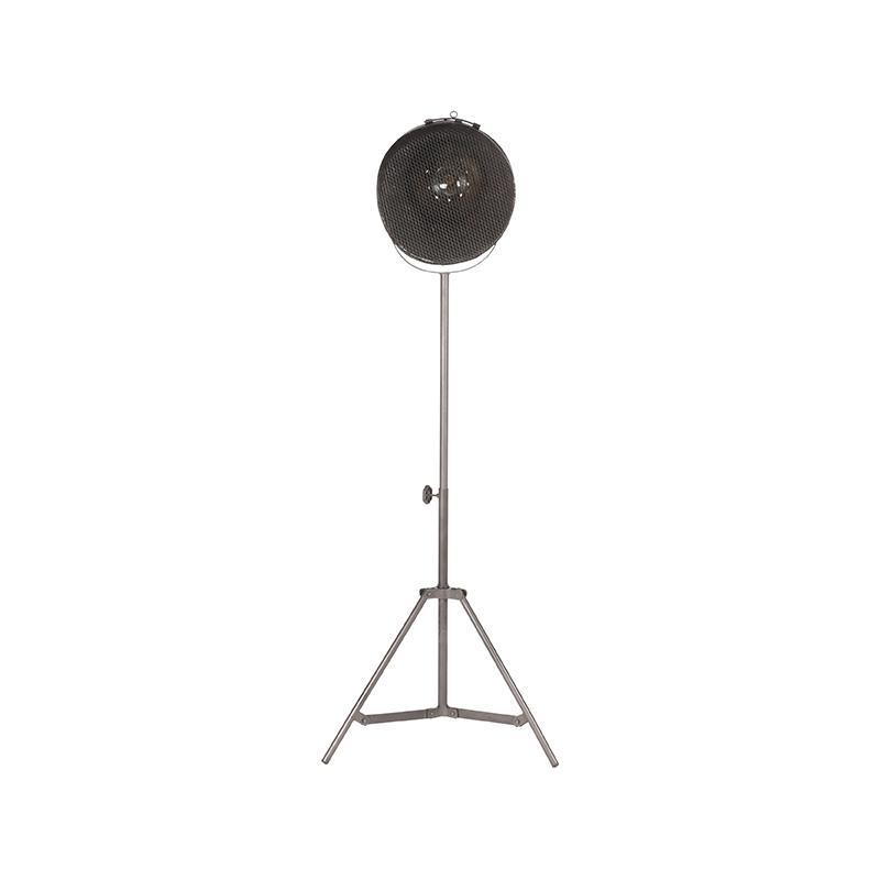 Vloerlamp Gaas Raw Iron Metaal 60x60x110 170 Voorkant