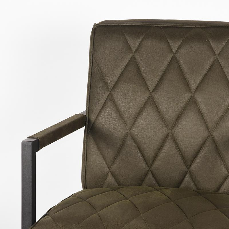 Label51 8211 Fauteuil Denmark 8211 Microvezel 8211 Army