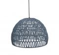 Label51 Hanglamp Rope 8211 Lichtgrijs 8211 Stof 8211 M
