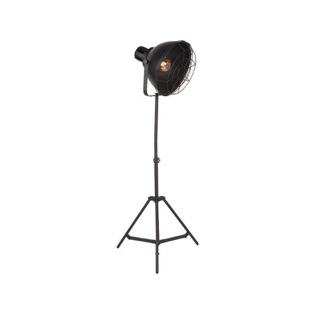 Vloerlamp Max Zwart Metaal 60x60x145 170 Cm Perspectief Aan