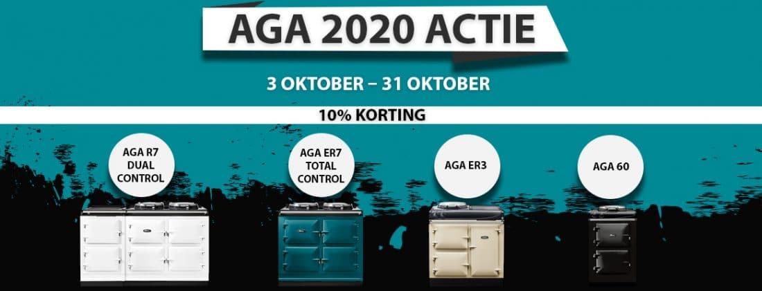 Website Banner Aga Actie October 2020