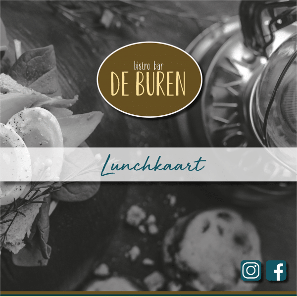 Lunchkaart Restaurant De Buren