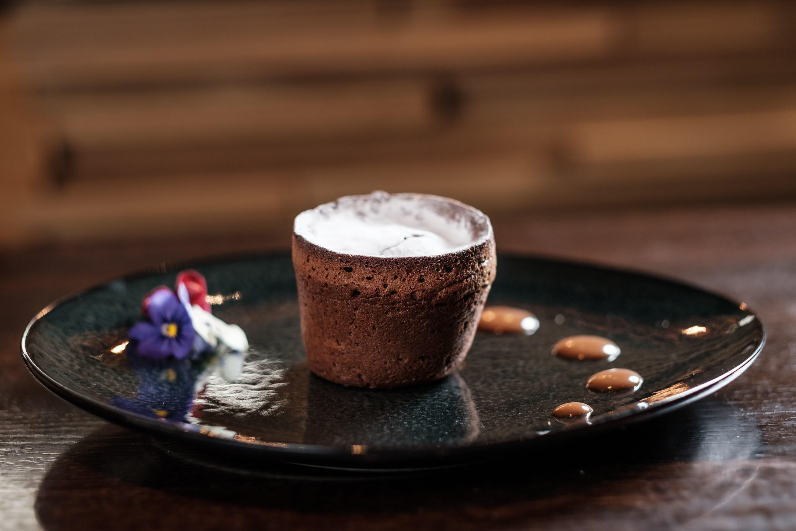 Priv Chocolade Souffl Eventueel Zelf Even Ijs En Slagroom Erbij Serveren