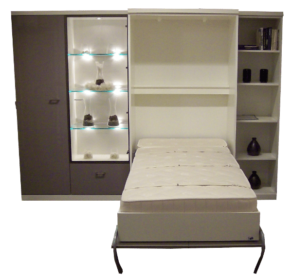 Wall bed Armadi as a single bed