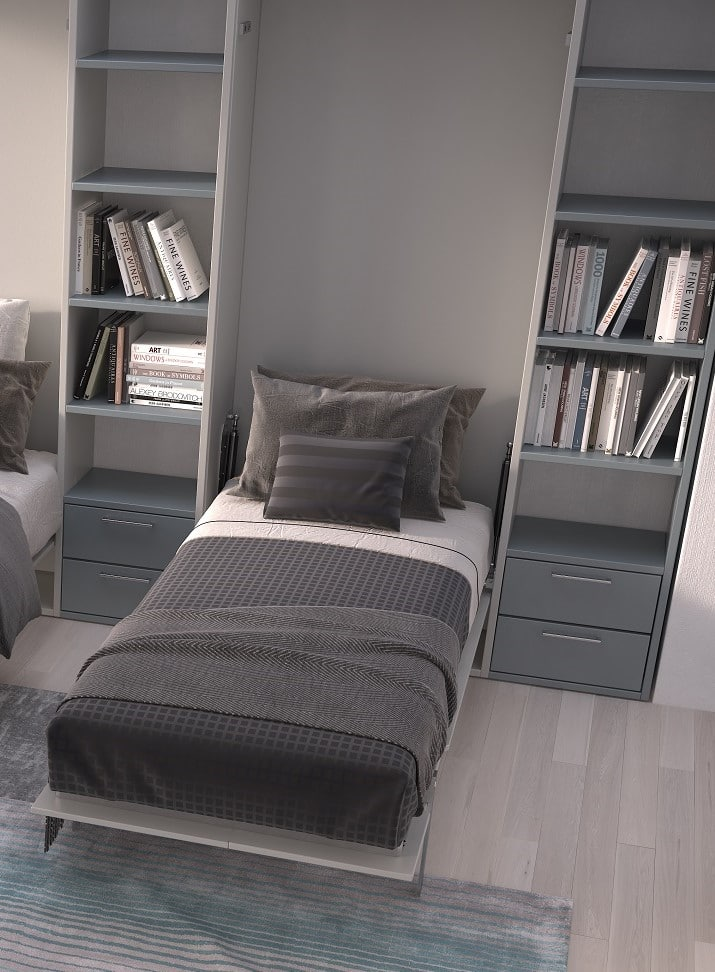 Wall bed Basic 1 Person As Bed 2