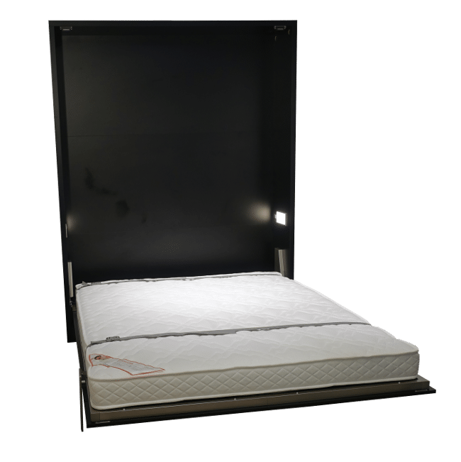 The Easy extra large wall bed with a bed length of 210 cm.