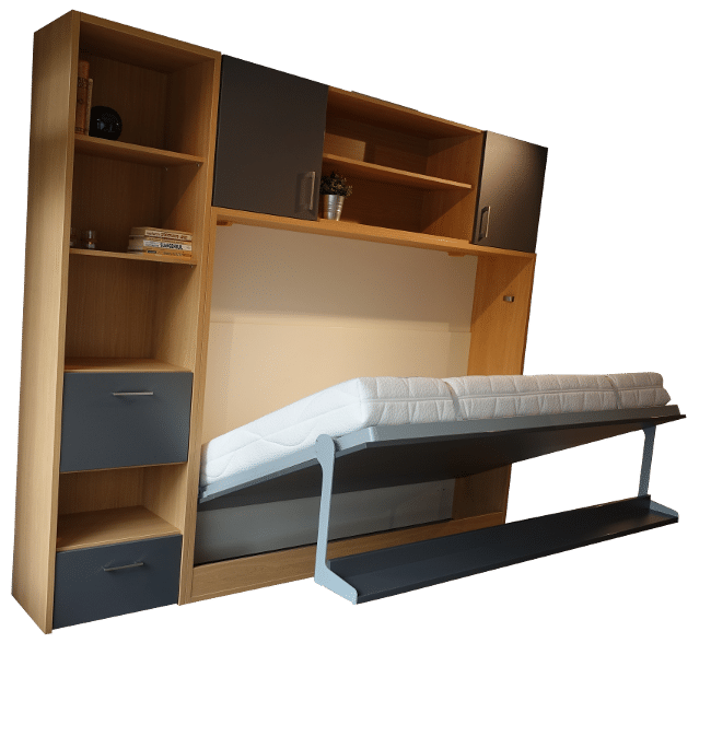 Wall bed Space Horizontal 3