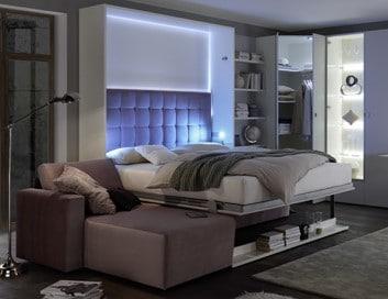 Bedkast Space Met Longchair Bank Als Bed 2