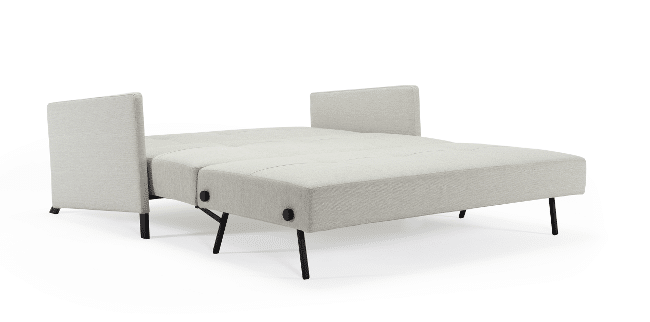 Sofa bed Cubed de Luxe with arms folded out towards the bed