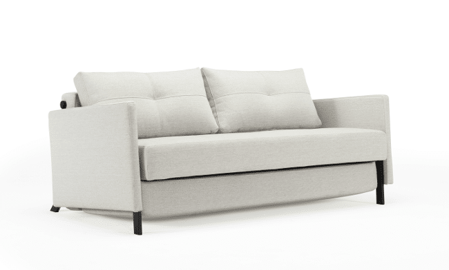 Sofa bed Cubed de Luxe with arms