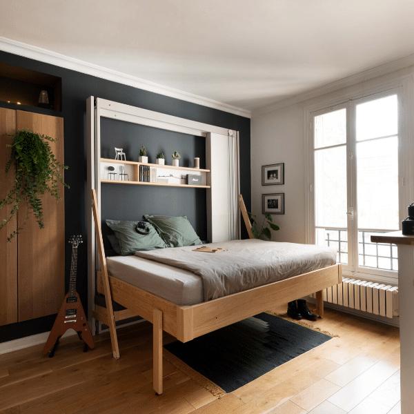 Plafondbed - bedkast Liftbed