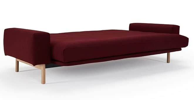 Sofa bed Mimer with bed 140x200 cm.