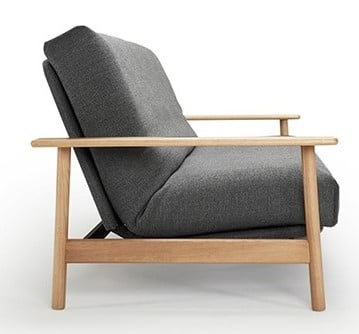 Side view of the Balder sofa bed
