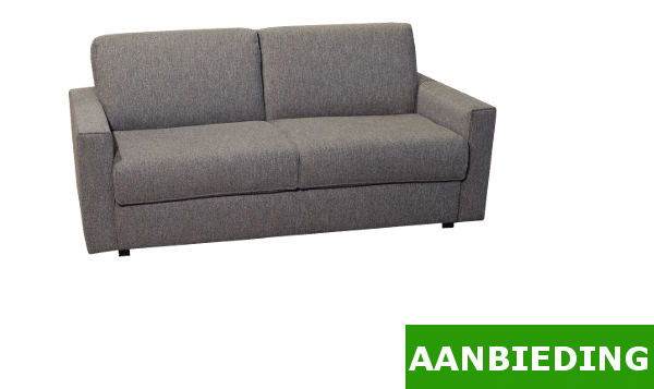 Sofa bed Brooklyn 140 Gray Offer 1