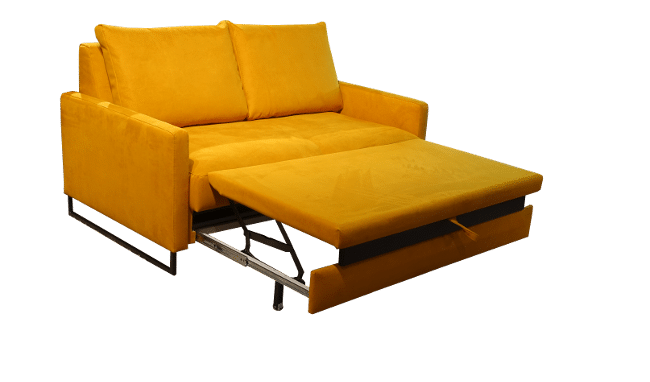 The sofa bed also has a pleasant relaxing position, so that you can sit up with the beneb