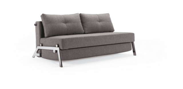 Sofa bed Cubed De Luxe Chrome