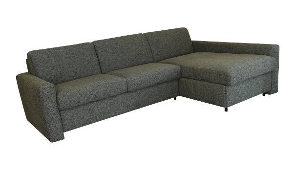 Sofa bed Real With Longchair