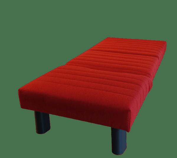 Slaapstoel Alexa uitgeklapt tot bed 80x200 cm.