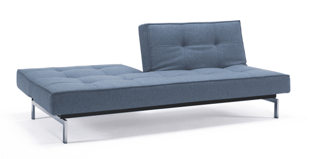 The Split Back sofa bed in half position