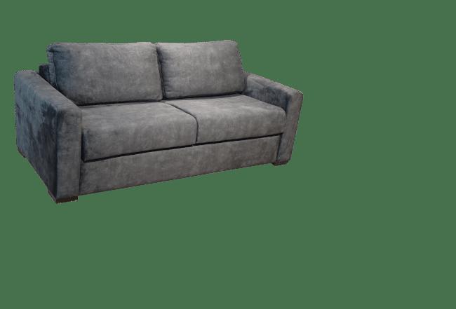 De slaapbank Kiwi heeft een prettig zitcomfort