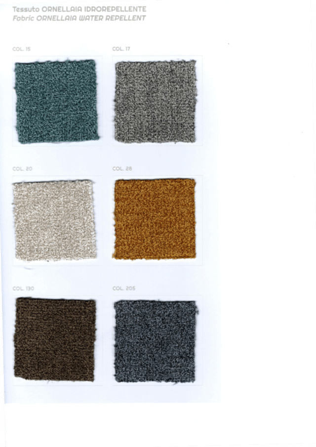 Offer fabrics for the Stanley sofa bed