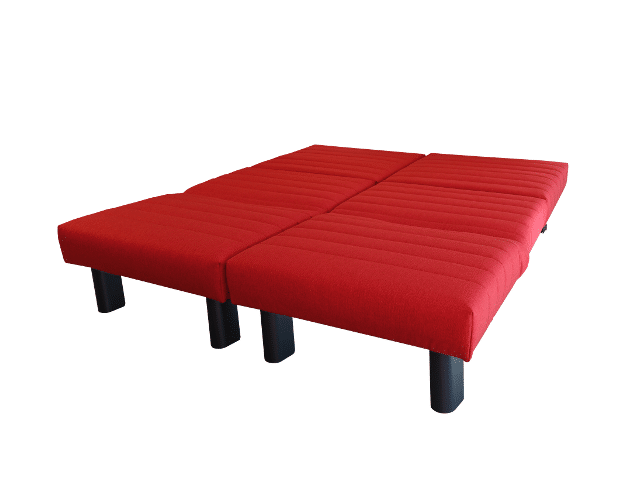 Sofa bed Alexa 2x80 folded out as a bed