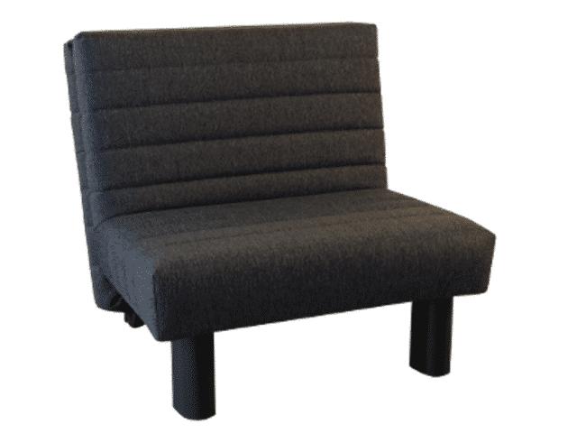 Slaapstoel Alexa ingeklapt als stoel