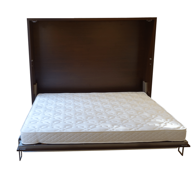 Horizontal folding wall bed Easy Desk, folded out as a bed