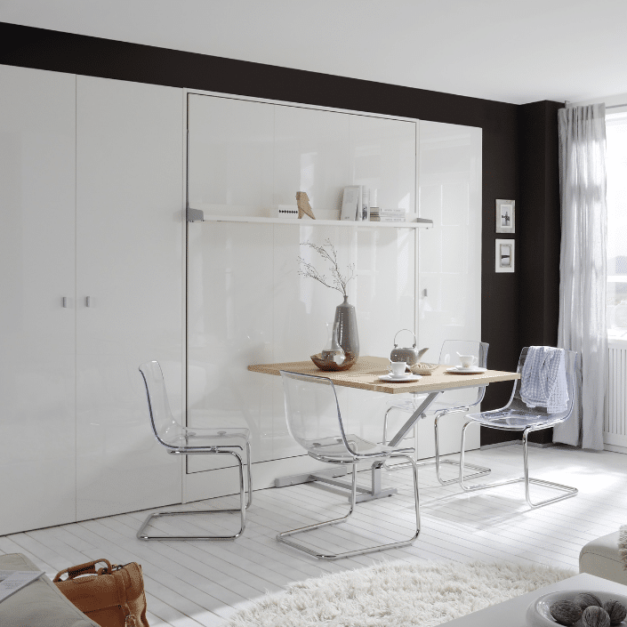 Wall bed Space with table