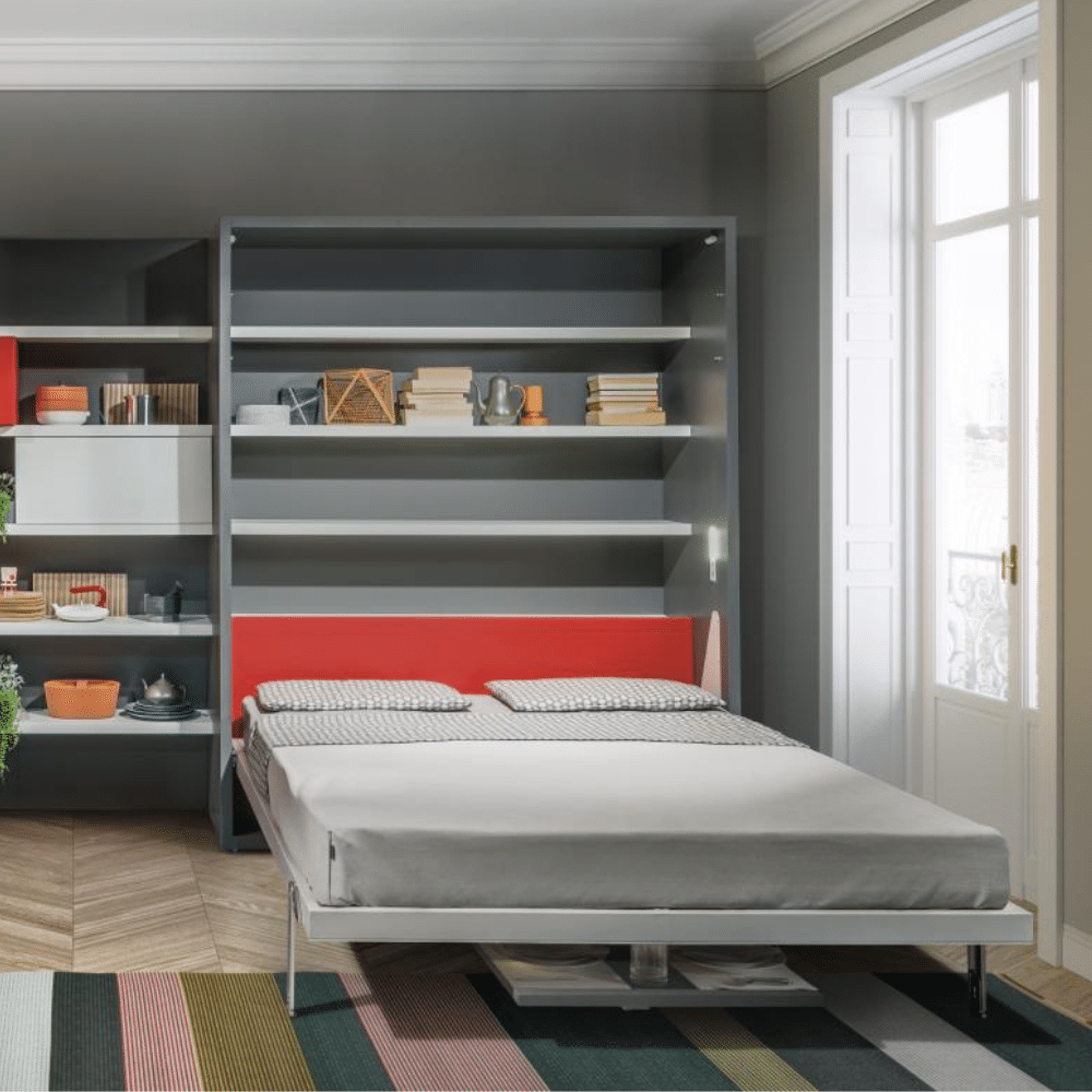 Folding bed Penelope Dining unfolded as a bed