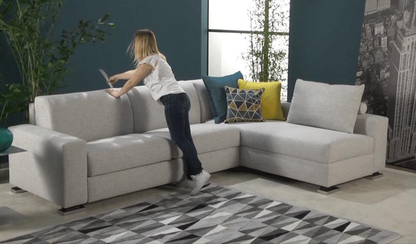 Corner sofa bed Prime in the sofa position