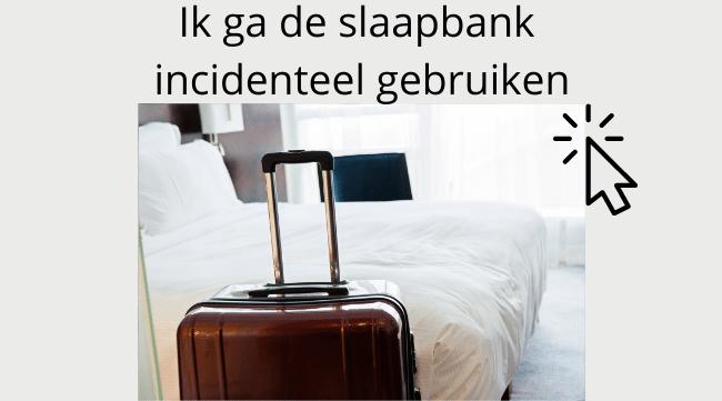 Slaapbanken om af en toe te gebruiken als bank en bed