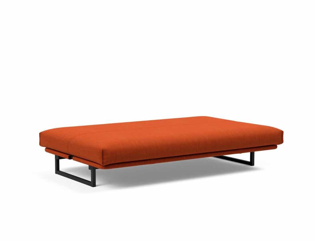 Slaapbank Fraction als bed uitgebeeld