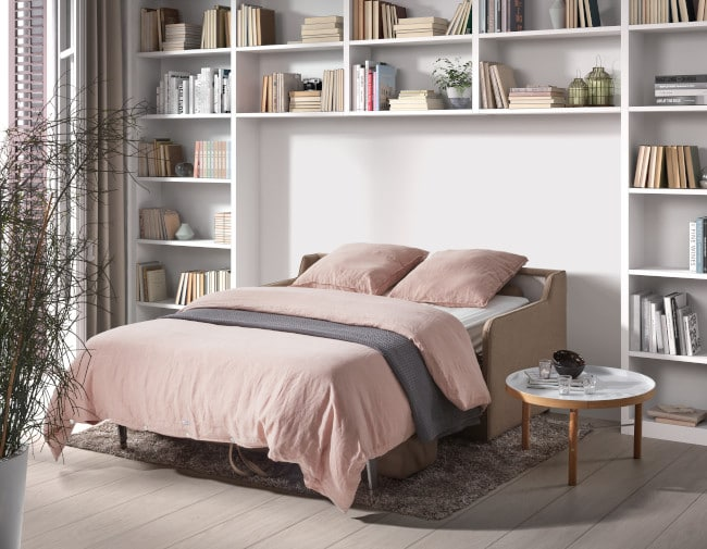 The Piccolino sofa bed with pocket sprung mattress for every night