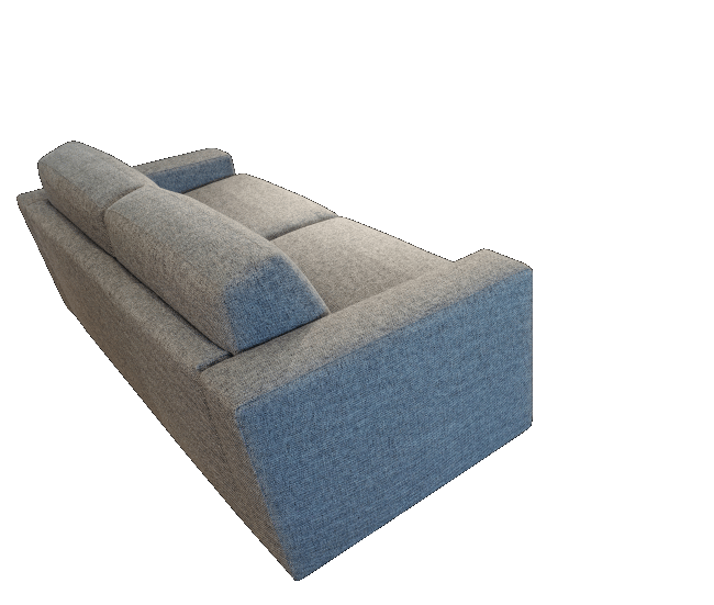 The Boxspring sofa bed as a very comfortable sofa with prestige fillings