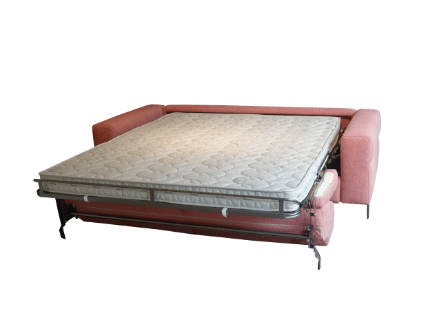 The Life sofa bed with a fold-out bed and a mattress length of 205 cm.